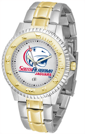 South Alabama Jaguars Competitor Two Tone Watch
