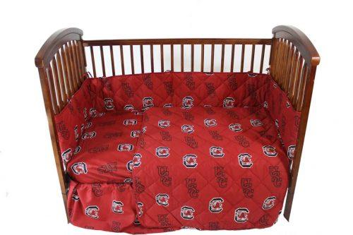 South Carolina Gamecocks Baby Crib Set