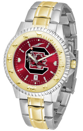 South Carolina Gamecocks Competitor AnoChrome Two Tone Watch