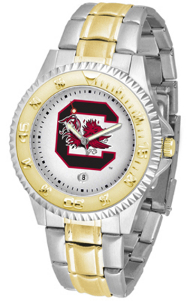 South Carolina Gamecocks Competitor Two Tone Watch