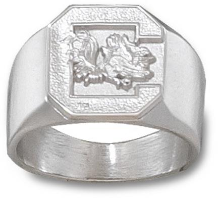 "South Carolina Gamecocks ""Gamecock"" Men's Ring Size 10 1/2 - Sterling Silver Jewelry"