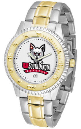 South Dakota Coyotes Competitor Two Tone Watch