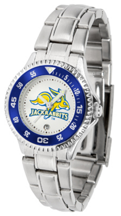 South Dakota State Jackrabbits Competitor Ladies Watch with Steel Band