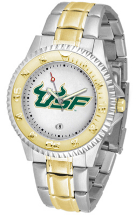 South Florida Bulls Competitor Two Tone Watch