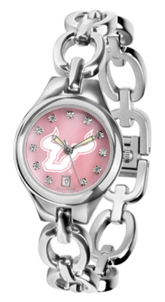 South Florida Bulls Eclipse Ladies Watch with Mother of Pearl Dial