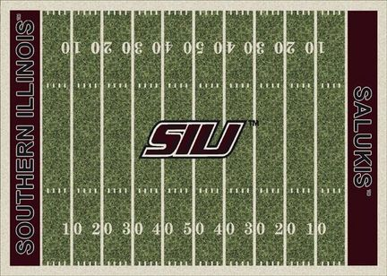 "Southern Illinois Salukis 3' 10"" x 5' 4"" Home Field Area Rug"