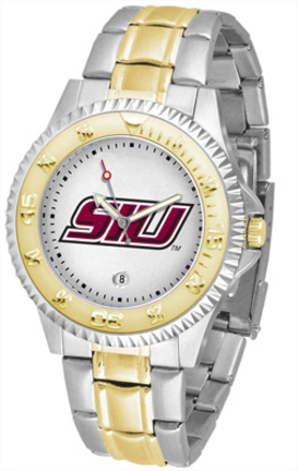 Southern Illinois Salukis Competitor Two Tone Watch
