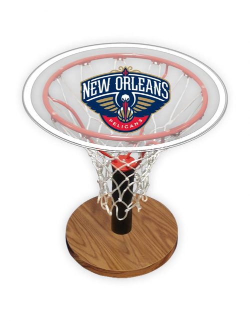 Spalding New Orleans Pelicans Acrylic Table