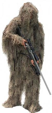 Special Ops Mossy Pattern Paintball Ghillie / Hunter Suit (Medium)