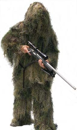 Special Ops Woodland (All Season) Paintball Ghillie / Hunter Suit (Large)