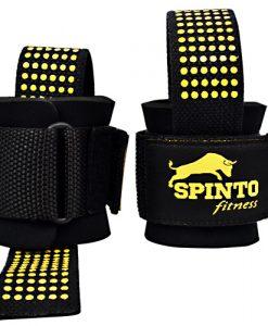 Spinto USA 9160056 Power Lift Straps Black