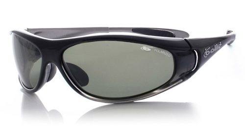 Spiral Sport Sunglasses with 3D Smoke Frame and Polarized Axis Oleo AF Lenses from Bolle