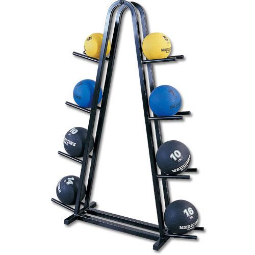 Sport Supply Group 1033250 Fitness Medicine Balls - Double Medicine Ball Rack