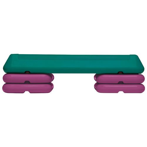 Sport Supply Group 1158632 25 L x 11 W The Circuit Step
