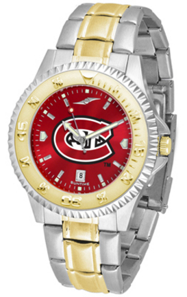 St. Cloud State Huskies Competitor AnoChrome Two Tone Watch