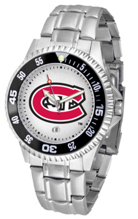 St. Cloud State Huskies Competitor Watch with a Metal Band