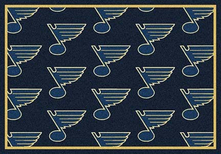 "St. Louis Blues 2' 1"" x 7' 8"" Team Repeat Area Rug Runner"
