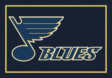 "St. Louis Blues 3' 10"" x 5' 4"" Team Spirit Area Rug"