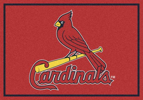 "St. Louis Cardinals 3'10"" x 5'4"" Team Spirit Area Rug"