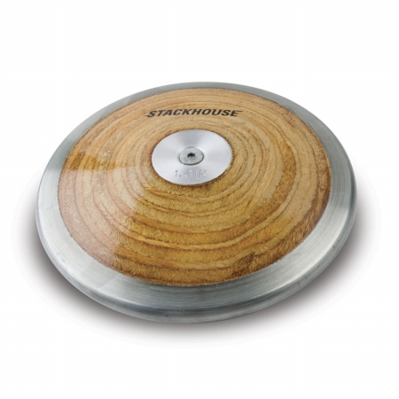 Stackhouse T-1.6 Competition Wood Discus - 1.6 kilo High School