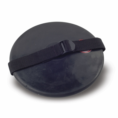 Stackhouse TRT1.6 Rubber Discus with Strap - 1.6 kilo High School