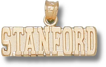 """Stanford Cardinal """"Stanford"""" 1/4"""" Pendant - 10KT Gold Jewelry"""