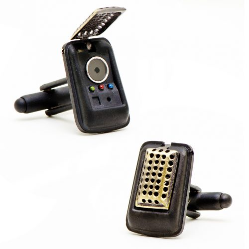Star Trek 3-D Communicator Cuff Links - 1 Pair