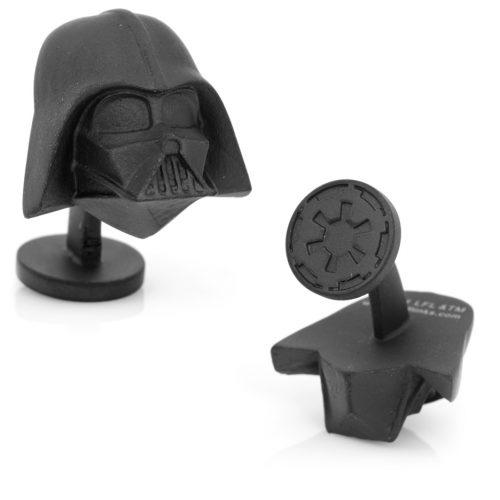 Star Wars 3-D Darth Vader Head Cuff Links - 1 Pair