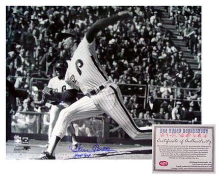 "Steve Carlton Philadelphia Phillies MLB Autographed Black and White 16"" x 20"" Photograph with ""HOF 94"" Inscription (Unframed)"