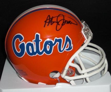 Steve Spurrier Autographed Florida Gators Mini Helmet