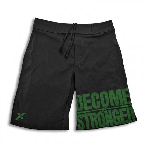 StrongerRX MShBecStroBKSM Become Stronger Shorts for Men Black - Small