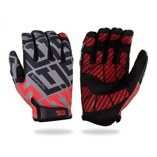 StrongerRX UGLt15GYXS Fitness Gloves Grey - Extra Small