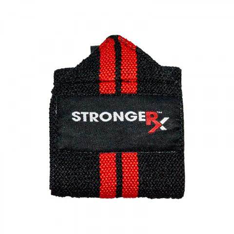 StrongerRX UWpOlyWrpRD OLY Red Wraps One Size