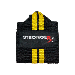 StrongerRX UWpOlyWrpYL OLY Yellow Wraps One Size