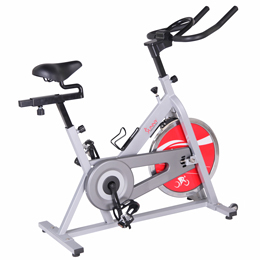 Sunny Distributor SF-B1001S Sunny Indoor Cycling Bike- Silver