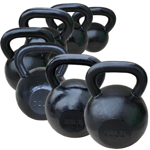 Sunny Health & Fitness NO. 067-30 Black Kettle Bell - 30 lbs
