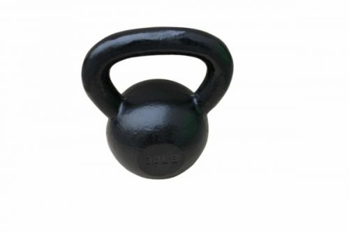 Sunny Health & Fitness NO. 067-40 Black Kettle Bell - 40 lbs