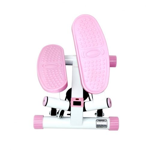 Sunny Health & Fitness P8000 Adjustable Twist Stepper Pink