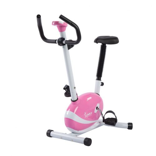 Sunny Health & Fitness P8200 Magnetic Upright Bike Pink