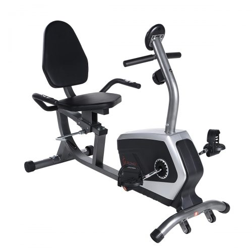 Sunny Health & Fitness SF-RB4616 Easy adjustable Seat Recumbent Bike Exercise Bike