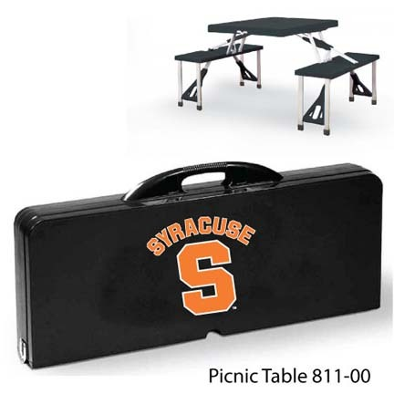 Syracuse Orange (Orangemen) Portable Folding Table and Seats