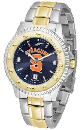 Syracuse Orangemen Competitor AnoChrome Two Tone Watch