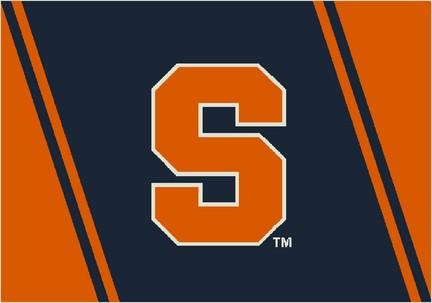 "Syracuse Orangemen ""S"" 3'10""x 5'4"" Team Spirit Area Rug"