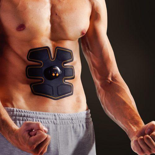 Tagco USA EF-ABSP-LAR ABS Pad Muscle Toner Black - Large