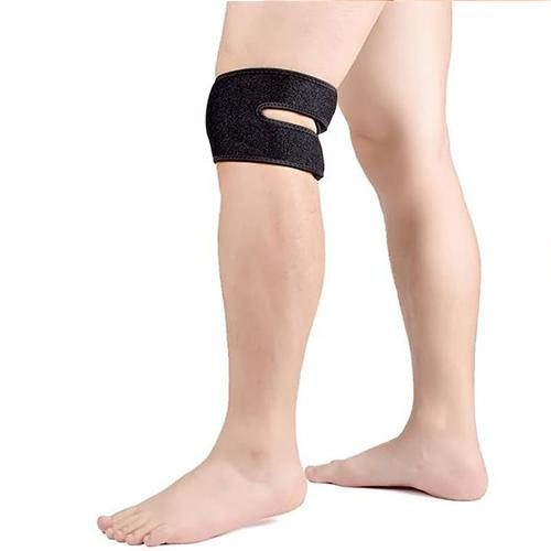 Tagco USA EF-SHE-BLA Double Support Adjustable Pain Relief Knee Straps Sheffield