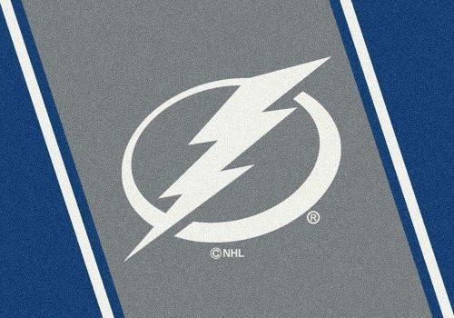 "Tampa Bay Lightning 3' 10"" x 5' 4"" Team Spirit Area Rug"