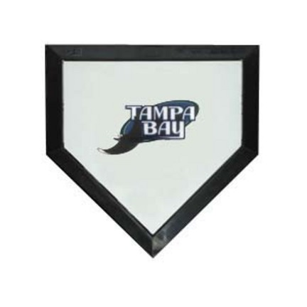 Tampa Bay Rays Licensed Authentic Pro Home Plate from Schutt