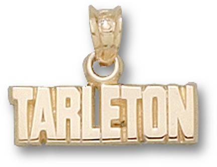 "Tarleton State Texans ""Tarleton"" 3/16"" Pendant - 10KT Gold Jewelry"