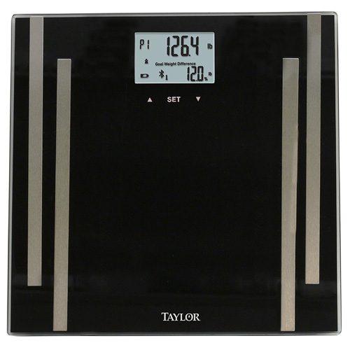 Taylor 7222-4072F Bluetooth Digital Body Fat Smart Scale