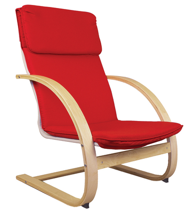 Teacher's Rocker Chair - Red